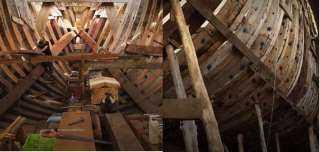 «السفينة الخضراء».. كل ما تريد معرفته عن بناء أكبر سفينة شحن خشبية في العالم