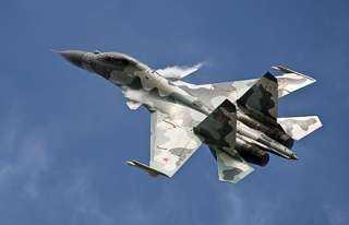 """"""" سوخوي"""" روسية تعترض طائرة استطلاع أمريكية فوف البحر الأسود"""