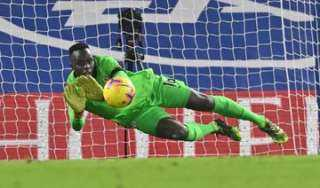 السنغالي ميندي أفضل حارس في الدوري الإنجليزي