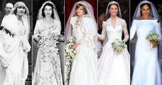 «ممنوع حدف البوكيه واختيار الفستان».. قانون الزواج الملكى يجبر الأميرات بالتخلي عن أحلام يوم العرس