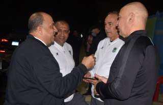 مصيلحى يدعم الإتحاد السكندري بالسويس قبل مواجهة الأهلي بالكأس
