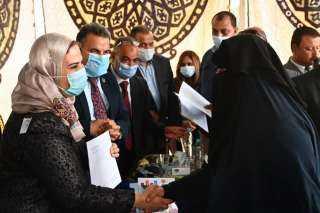"""القباج: حققنا الاستقلال المالي لـ620 مستفيد من برنامج """"تكافل"""" في كفر الشيخ"""