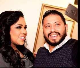 شيماء سيف لزوجها بعد إصابته بفيروس كورونا: سلامتك يا حبيبي