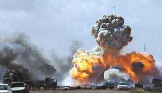 انفجار في شرق مدينة مصراتة الليبية والعثور على بقايا صواريخ