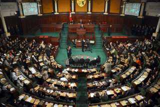 موظفو البرلمان التونسي ينظمون وقفة ضد نائب إخواني