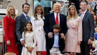 عاجل.. هروب ترامب وعائلته من أمريكا