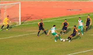 المصري يفوز على سبورتج بثلاثية وديا