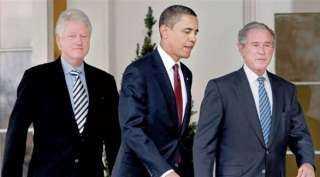 عاجل .. 3 رؤساء لأمريكا يأخذون لقاح كورونا أمام الجماهير