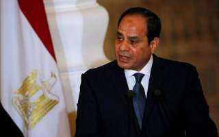 الرئيس السيسي : ثورة 25 يناير قادها شباب مخلصون