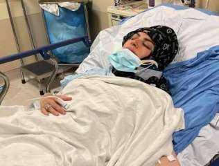 ميار الببلاوي ترد على شائعة وفاتها : نفسى أشوف ابنى قبل ماموت
