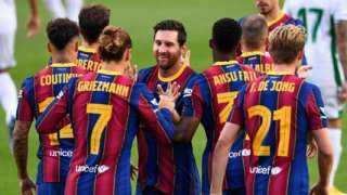 التشكيل المتوقع لبرشلونة أمام قادش بالدوري الإسباني