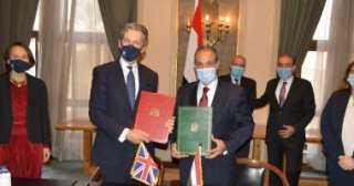 مصر توقع اتفاقية المشاركة مع المملكة المتحدة