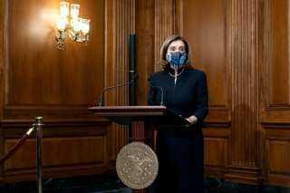 اعرف الحكاية كاملة.. سر تكرار إطلالة نانسى بيلوسى في جلستى الكونجرس