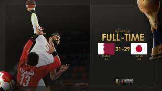 قطر تهزم اليابان 31/29 فى بطولة العالم لليد