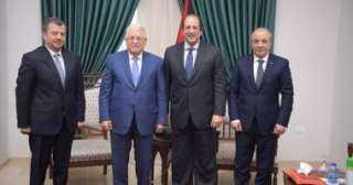 """رئيس المخابرات العامة ينقل رسالة هامة من الرئيس السيسى لـ""""أبو مازن"""""""