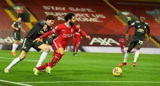 مانشستر يونايتد يواصل تصدره للبريميرليج بخطف نقطة من ليفربول في الدوري