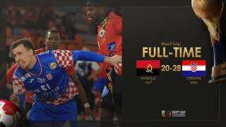 مونديال اليد.. كرواتيا تهزم أنجولا وتتأهل للدور الرئيسي