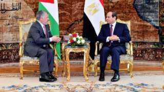 السيسي يتوجه اليوم إلى الأردن لبحث تطورات الأوضاع بالمنطقة