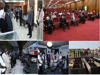 بالصور .. وزارة الداخلية تستقبل وفداً من الإعلاميين الأفارقة