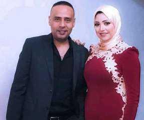 الشياكة والاحترام.. محمود عبد المغني وزوجته يخطفان الأنظار في أحدث ظهور لهما