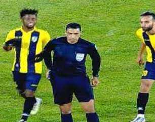 إيقاف «شيمي المقاولون» 6 مباريات بسبب البصق على حكم لقاء النجم الساحلي