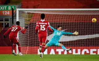 شوط أول سلبي بين ليفربول وبيرنلي في الدوري الإنجليزي