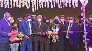 وزيرة التجارة والصناعة تشارك في افتتاح معرض الخرطوم الدولي