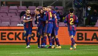 كونيلا يفرض التعادل السلبي على برشلونة في الشوط الأول