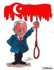 سفاح اسطنبول.. تقرير يكشف عدد  ضحايا تعذيب أردوغان خلال 18 عام