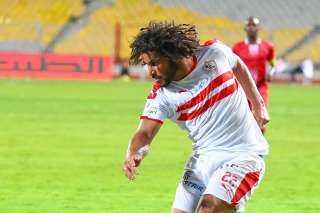 عبدالله جمعة يحفز لاعبي الزمالك قبل مواجهة أسوان