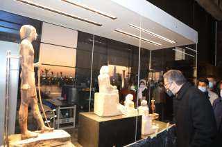 وزير السياحة والآثار يتفقد متحف عواصم مصر تمهيدا لافتتاحه