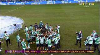 سبورتنج لشبونة بطلًا لكأس دوري البرتغال على حساب براجا