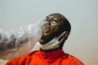 الأهلي يجري مسحة طبية قبل مواجهة بيراميدز