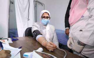 وزارة الصحة تكشف معلومات جديدة بشأن تطعيم المصريين بلقاح كورونا