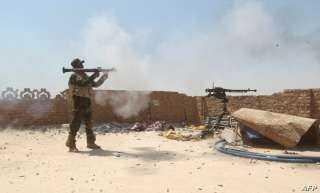 اشتباكات بين الحشد الشعبي وعناصر داعش غربي العراق