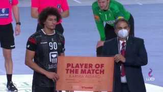 علي زين «رجل» مباراة مصر والدنمارك بمونديال اليد