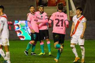 برشلونة يتأهل إلى ربع نهائي كأس إسبانيا بفوز على فاليكانو