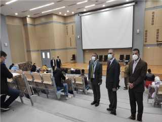 بالصور .. إنطلاق الامتحانات بجامعة الملك سلمان الدولية الأهلية