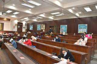 بالصور .. غرفة عمليات جامعة القاهرة ترصد سير الامتحانات بالكليات لحظة بلحظة