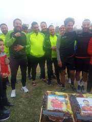 سيراميكا كليوباترا يحتفل بعيد ميلاد ضياء قنديل ومحمد إبراهيم