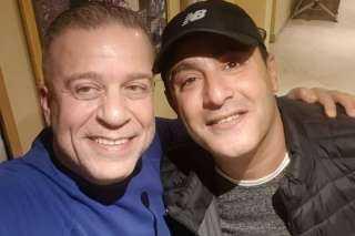 كل سنة وأنت صحبي.. شريف منير يهنىء أحمد السقا بعيد ميلاده