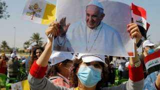 وصل منذ قليل.. كل ما تريد أن تعرفه عن زيارة البابا التاريخية إلي العراق