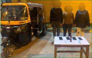 القبض على عصابة سرقة الدراجات النارية بالإكراه فى القاهرة