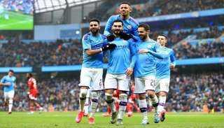 بيب جوارديولا يعلن تشكيل مانشستر سيتي أمام مانشستر يونايتد فى الدورى الإنجليزي