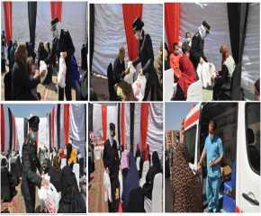 الداخلية توجه قافلة خدمية وإنسانية لحى الأسمرات بالقاهرة