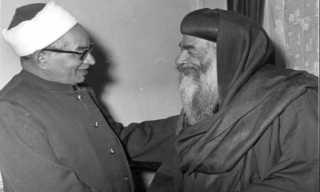 لن تصدق.. ماذا قال الشيخ الباقوري في رثاء البابا كيرلس؟