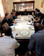 أحمد مغاوري: نستهدفت تعزيز التعاون المشترك في المجالات التجارية والصناعية والاستثمارية مع السودان