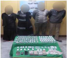 الإدارة العامة لمكافحة المخدرات توجه ضربات موجعة لتجار السموم