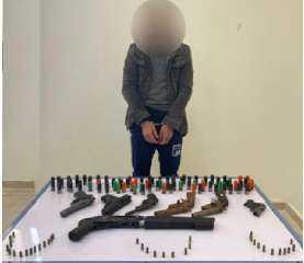 أجهزة أمن الإسكندرية تنجح فى ضبط أحد العناصر الإجرامية