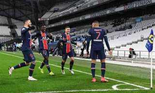 باريس سان جيرمان يتعادل سلبياً مع سانت إيتيان في الشوط الأول
